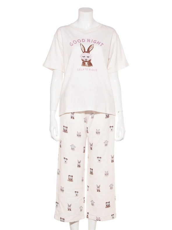 Animal Eye Mask Long Pants (PWCP191318)