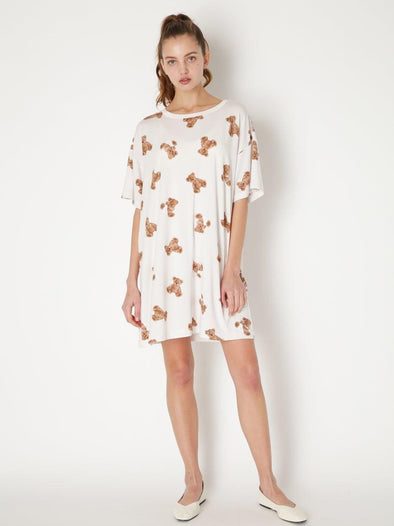 Bear Motif Antibacterial&Deodorizing Dress