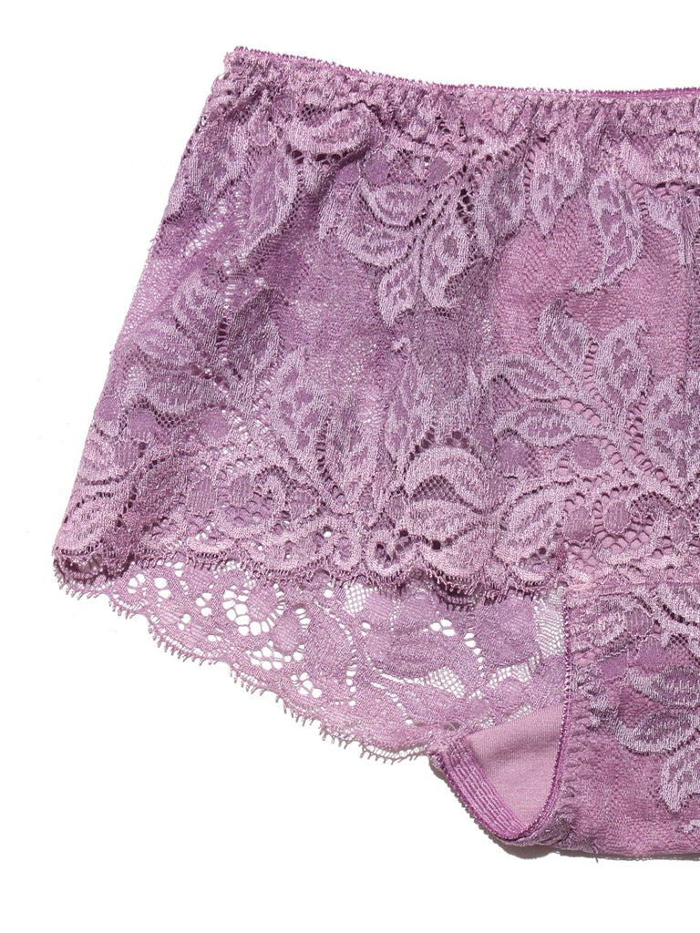 Leaf Lace Bra & Shorts(PWCT185306)