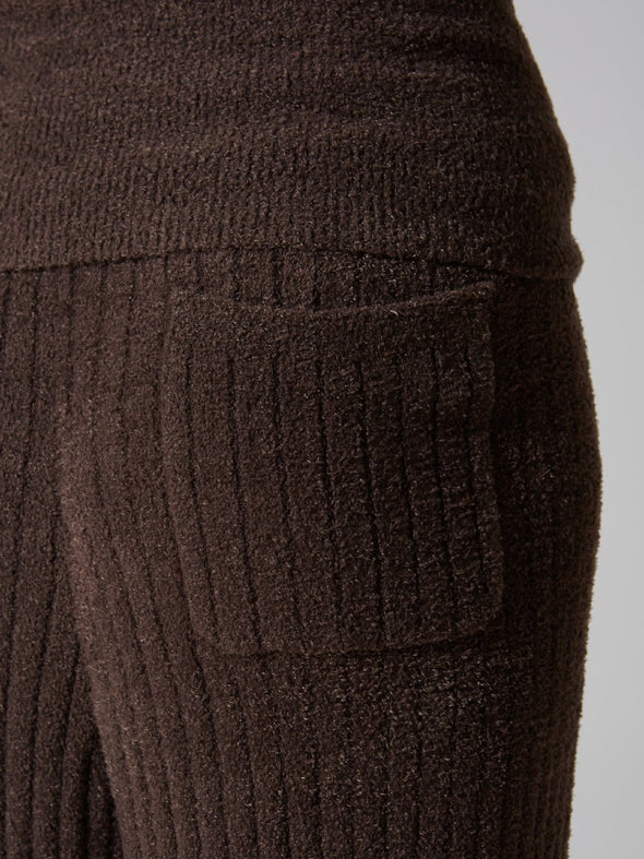 Hot Smoothie Ribbed Belly Warmer Long Pants