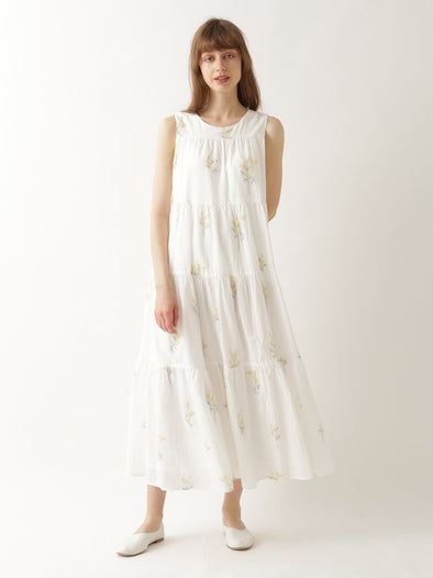 Mimosa Long Tiered Dress