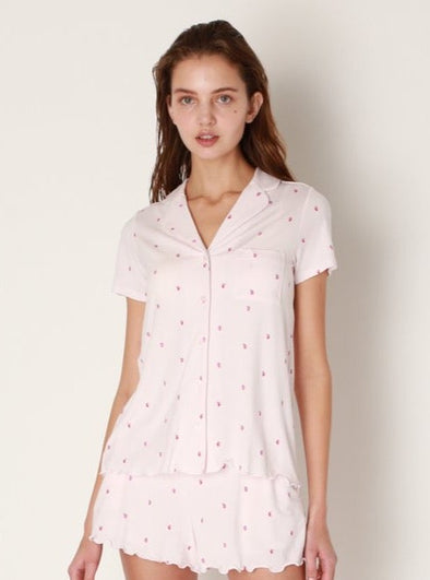 Strawberry Motif Shirt