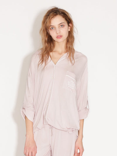 Mixed Silk Shirt (PWCT182267)