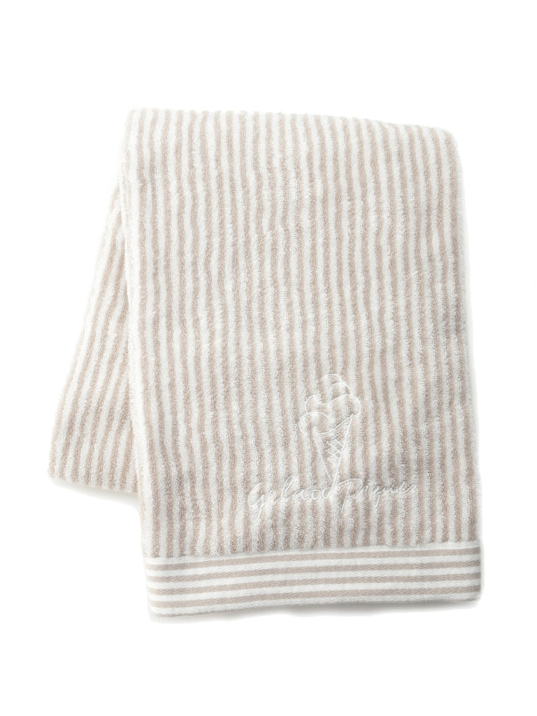 Striped Ice Cream Bath Towel (PWGG192504)