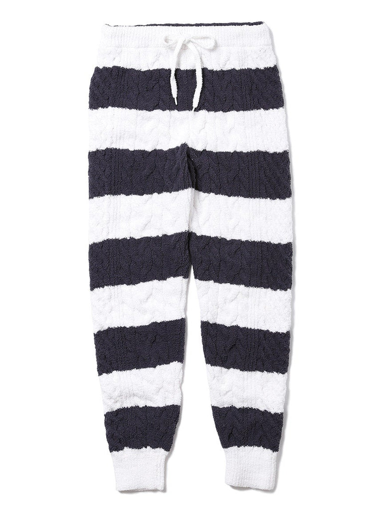 Striped Aran Pants (PWNP185006)