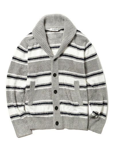 Men's Smoothie Striped Cardigan