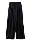 Vintage-Style Satin Long Pants