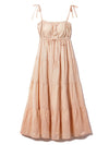 Resort Gauze Tiered Dress
