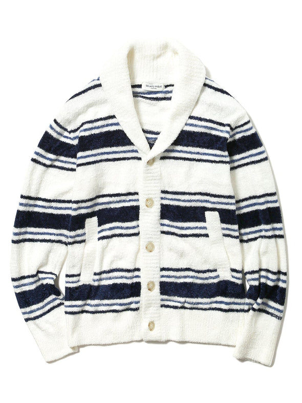 HOMME Smoothie Striped Cardigan