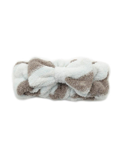 'Powder' Tiramisu Border Headband