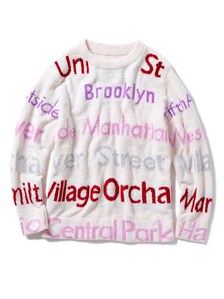 Smoothie New York Jacquard Pullover  (PWNT185151)