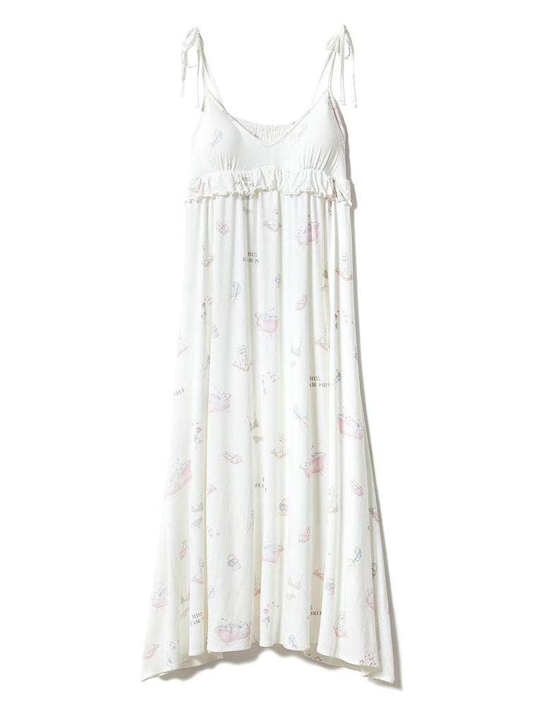 Bath Time Dress with Built-in Bra (PWCO191254)