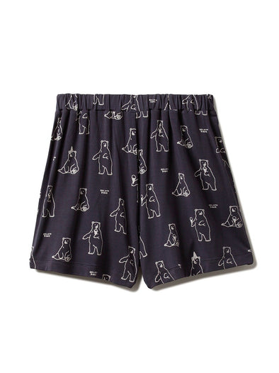 【Polar Bear Fair】Polar Bear Motif Cool Touch Shorts