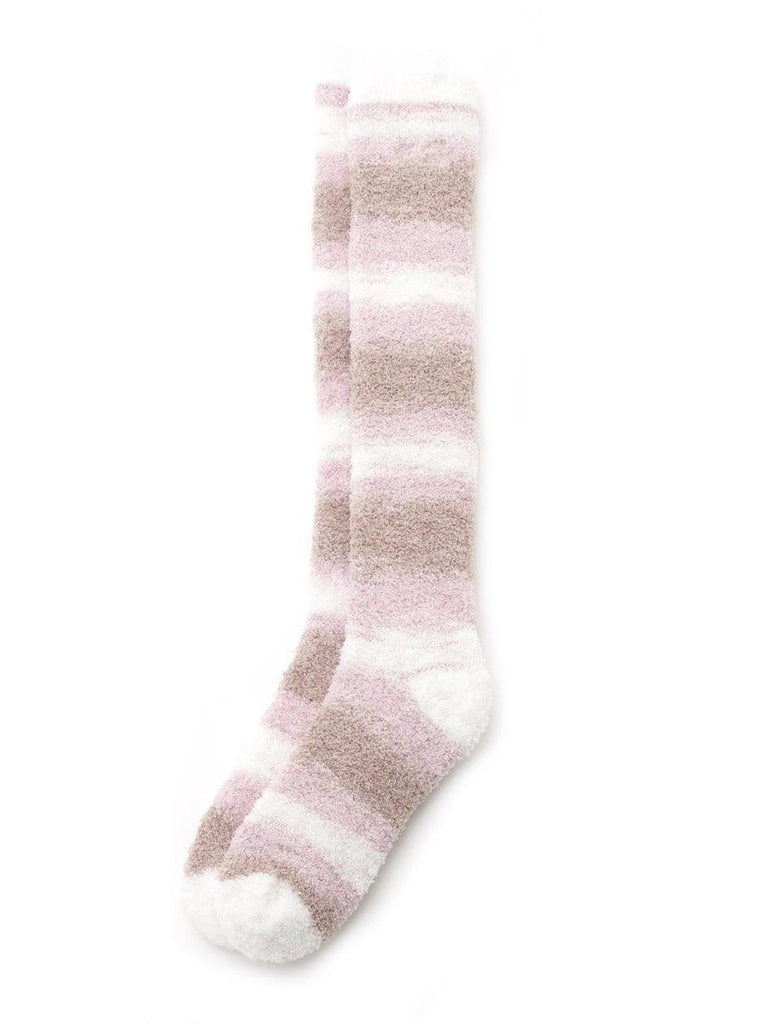 'Powder' Tiramisu Border Long Socks (PWGS191577)