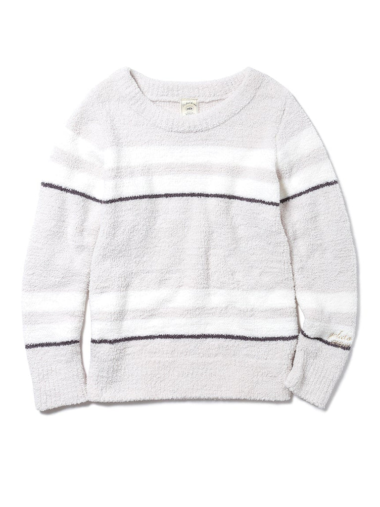 Powder Striped Pullover  (PWNT185029)