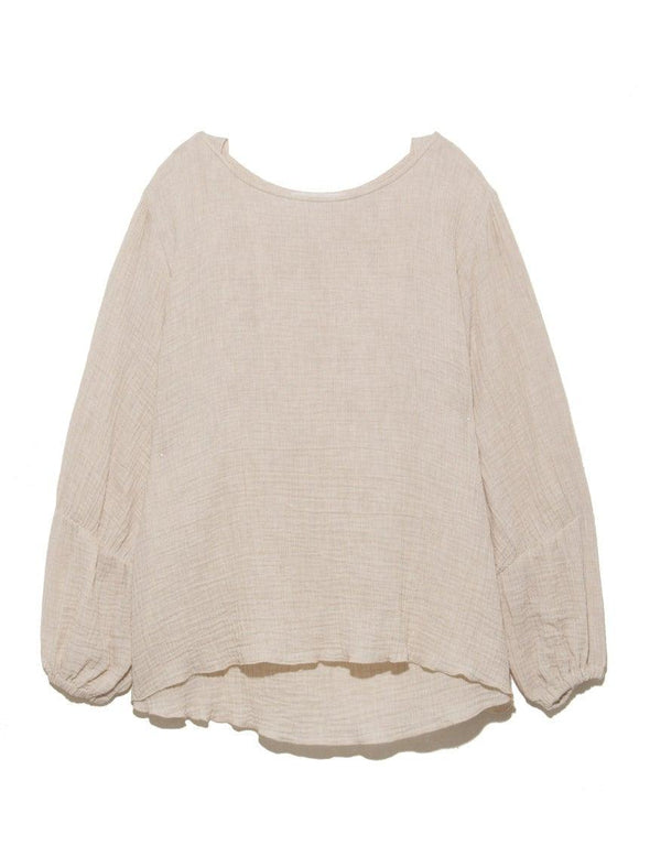 """Whipped"" Gauze Pullover"