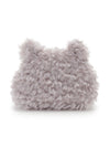 Animal Fur Mini Pouch