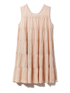 Resort Gauze Tiered Mini Dress