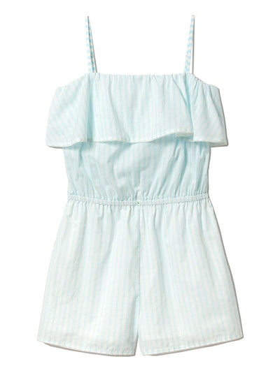 Cotton Candy Striped Sleeveless Romper(PWFO181273)