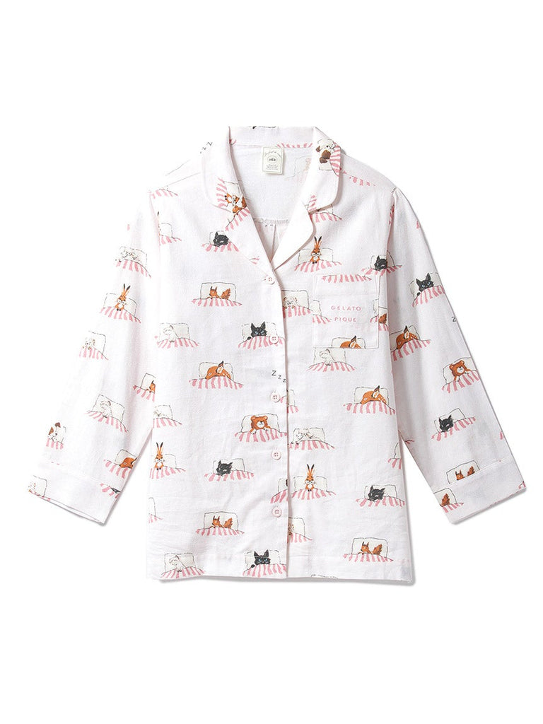 Sleeping Animal Shirt(PWFT185220)
