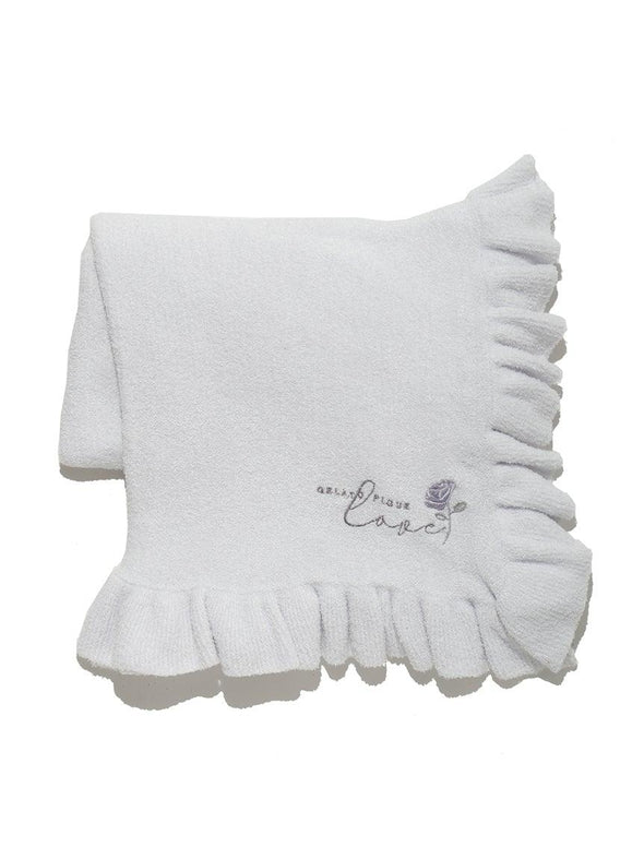 'Smoothie' Rose Frill Blanket (PWGG191508)