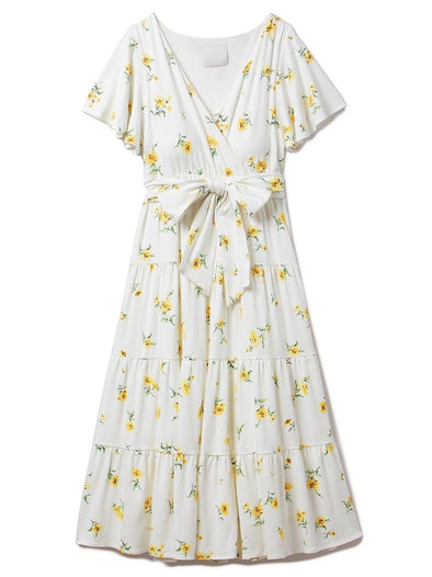 Flower Long Dress (PWCO192239)
