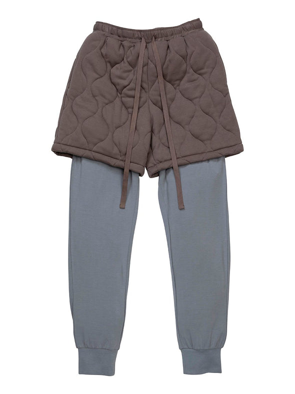 【MISTERGENTLEMAN×HOMME】QUILTED LAYERED PANT