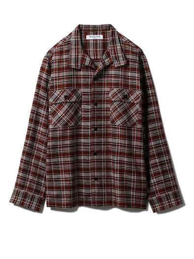 HOMME Plaid Shirt
