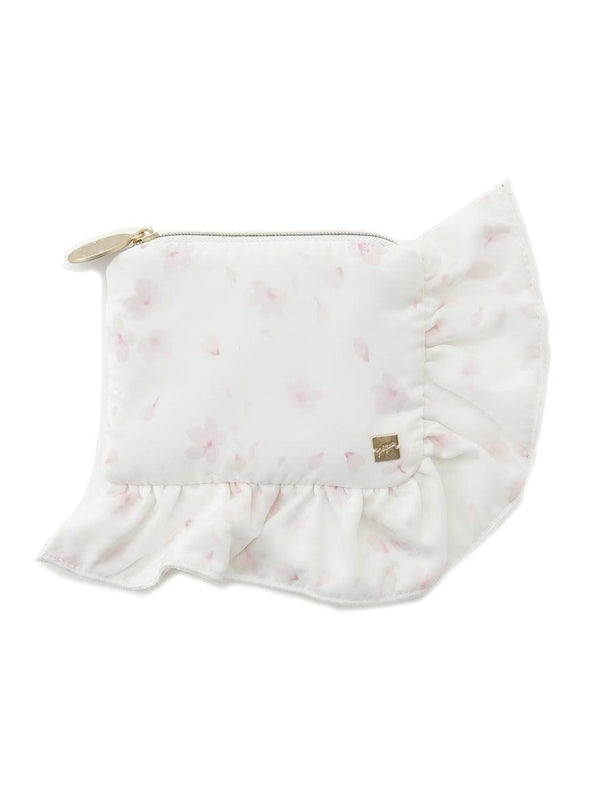 Cherry Blossom Satin Tissue Pouch