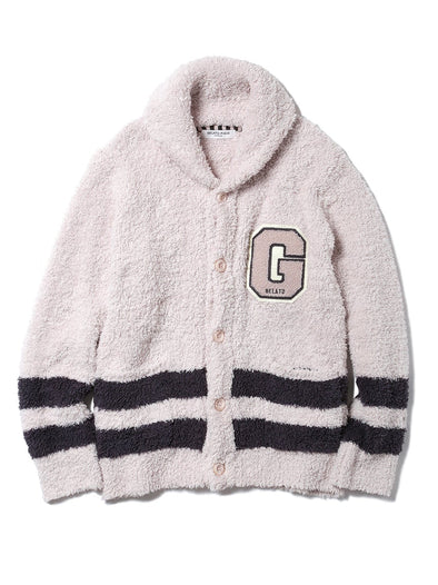 HOMME Gelato Chenille Embroidered Cardigan