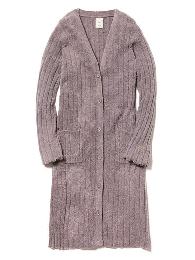 Hot Smoothie Rib Long Cardigan (PWNT184139)