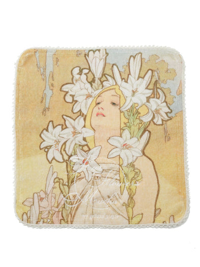 【Mucha and The Flowers】Hand Towel