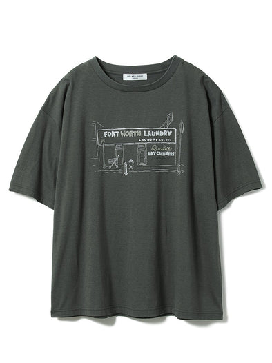 HOMME Rayon Logo Tee