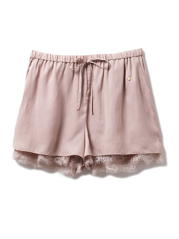 Satin×Lace Shorts