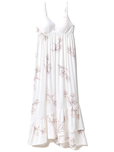 Floral Dress With Built-In Bra