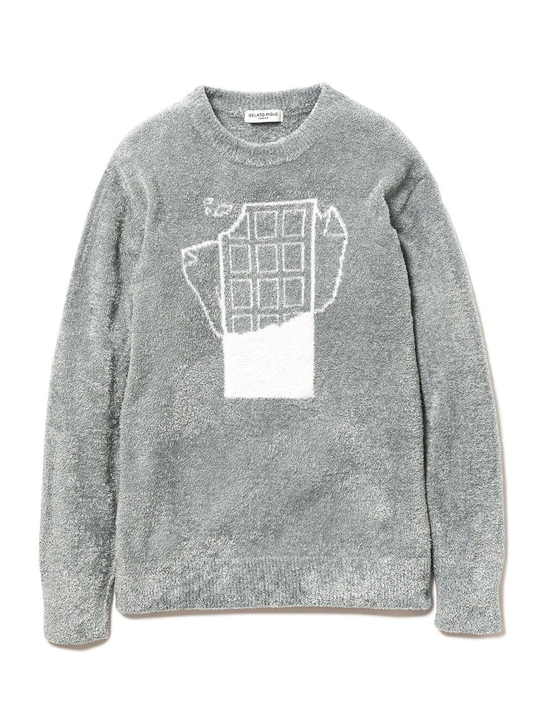 HOMME Smoothie Jacquard Pullover (PMNT184902)