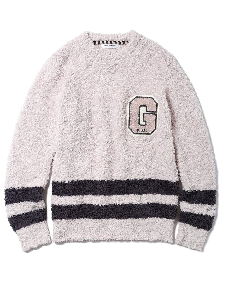 HOMME Gelato Chenille Embroidered Pullover ( PMNT185912 )