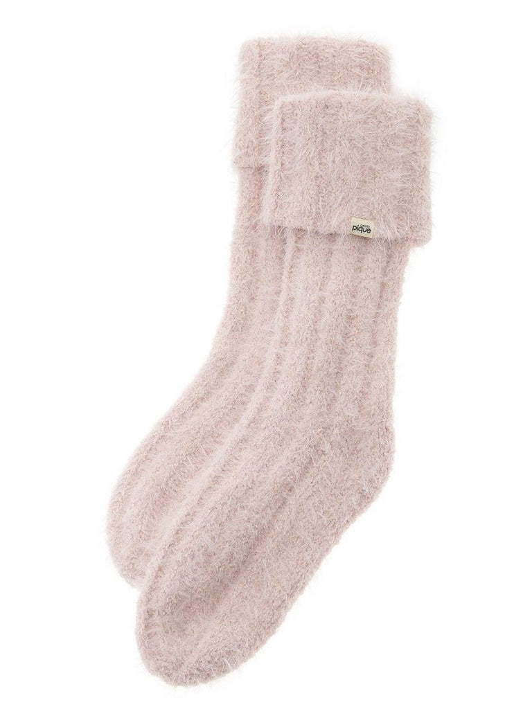 Feather Ribbed Socks (PWGS185590)