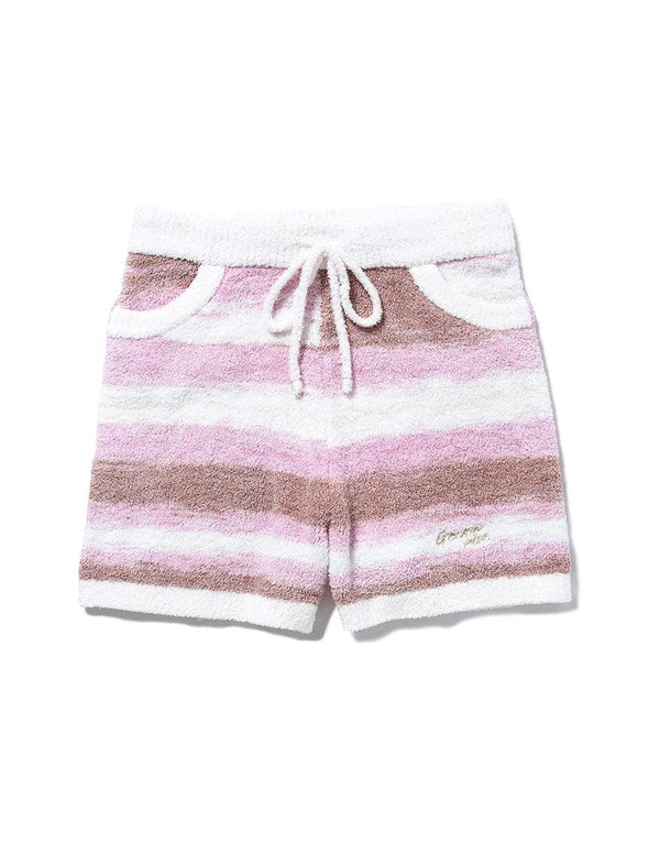 'Powder' Tiramisu Border Shorts