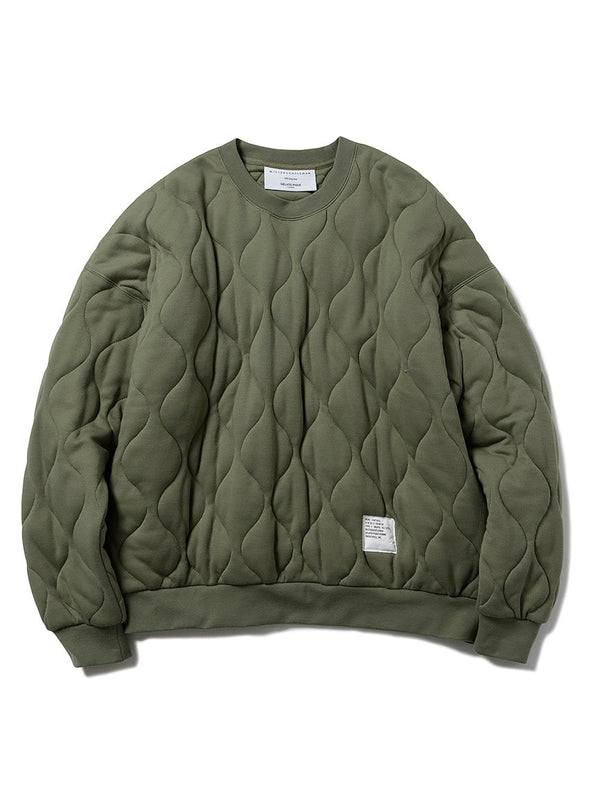 【MISTERGENTLEMAN×HOMME】QUILTED PULLOVER