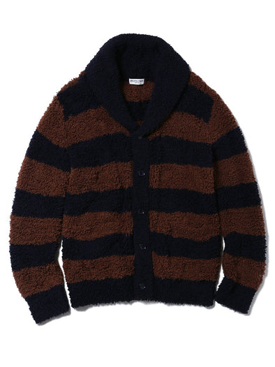 HOMME Gelato Striped Shawl Cardigan