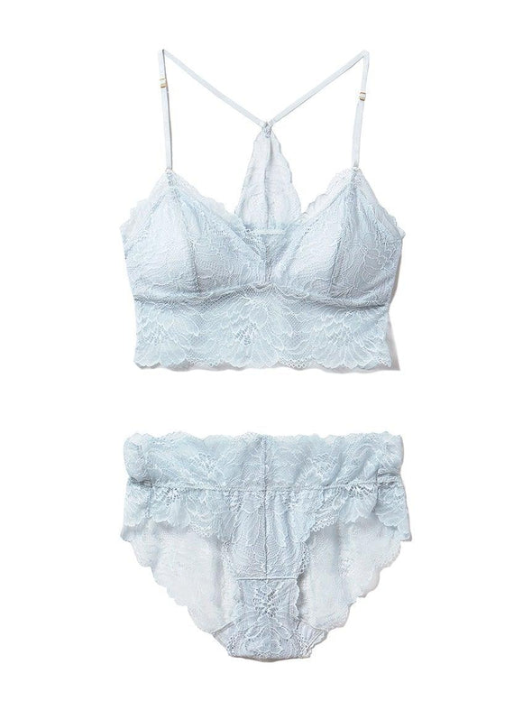 Flower Lace Bra & Shorts (PWCT192356)