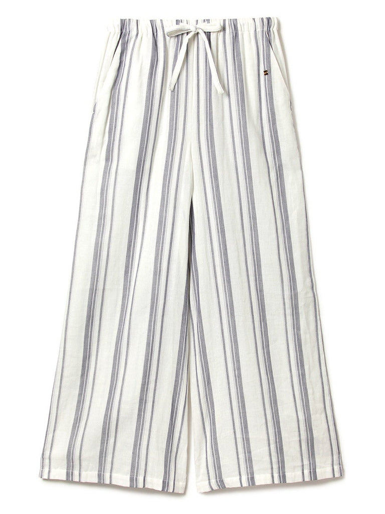 Striped Gauze Long Pants (PWFP181337)