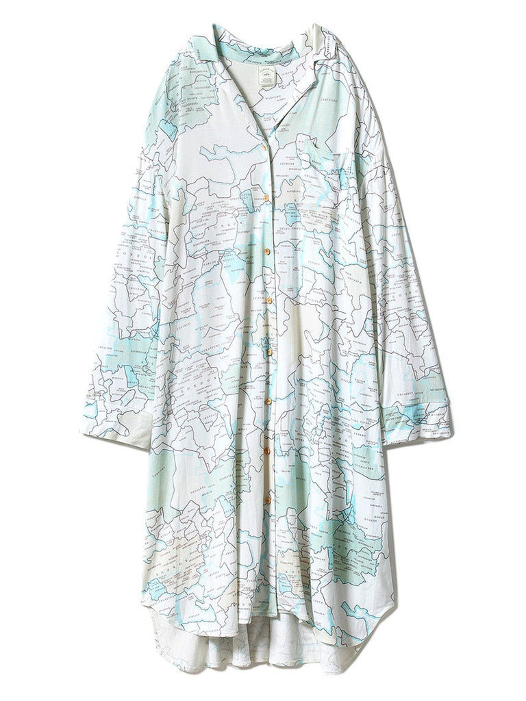 MAP Shirt Dress (PWCO191357)