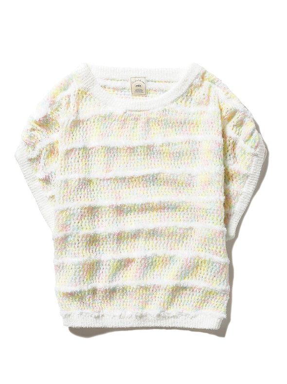Mixed Crochet Pullover (PWNT192043)
