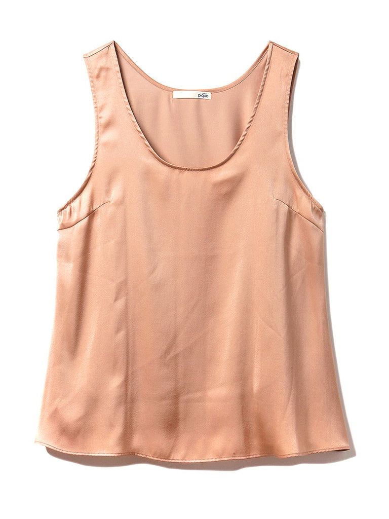 Summer Satin Tank Top(PWFT192253)