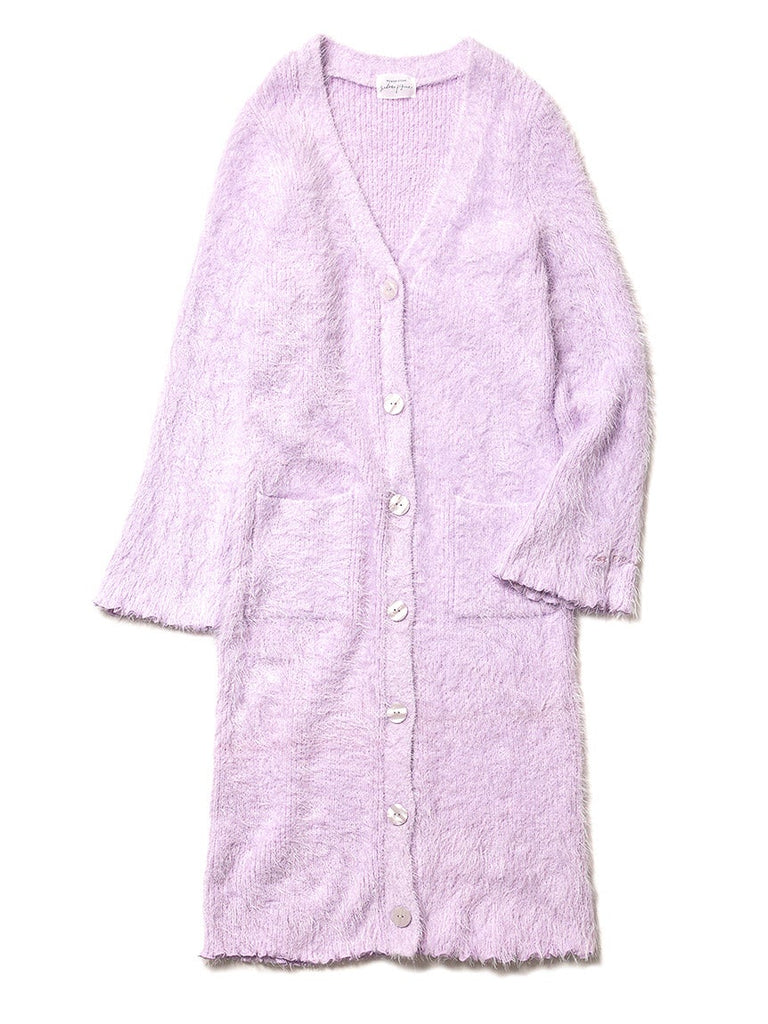 Power Stone Feather Long Cardigan (PWNT184126)