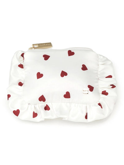 Hearts Satin Tissue Pouch (PWGB181639)