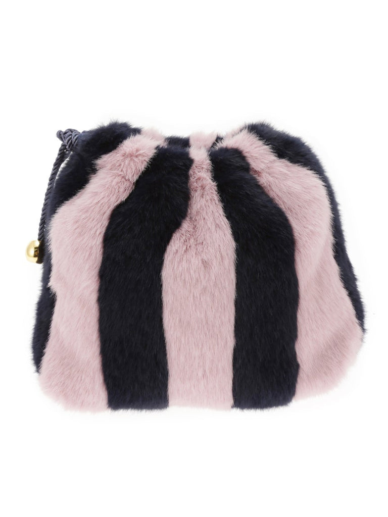 Striped Fur Purse (PWGB185635)