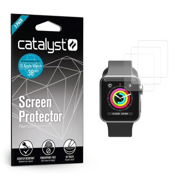 CATPET38WAT3-CA | Screen Protector for 38mm Apple Watch - 3 Pack